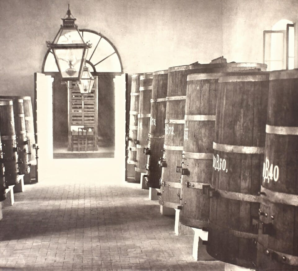 VINIFICATION ROOM DATING FROM THE EARLY 1800S