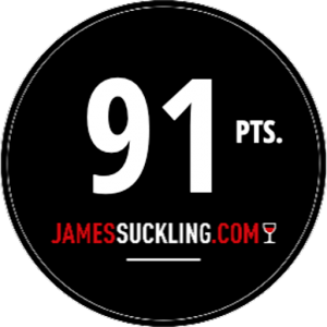James Suckling - 91pts