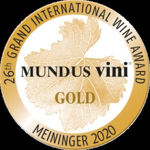 Mundus Vini - Grand International Wine Award - 2020 - Gold