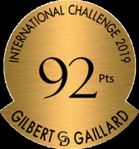 Award - Gilbert & Gaillard - 2019 - 92pt