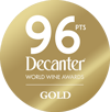 Decanter World Wine Awards – 96pts (Gold)
