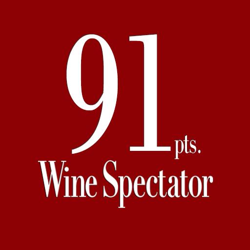 Wine Spectator – 91pts